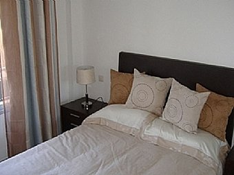 "Double bedroom at Miraflores Jardin ""A"""