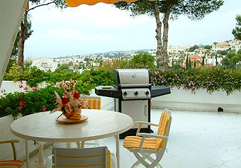 Parque Miraflores View from the terrace and barbecue is to the seView from the terrace and barbecue is to the sea